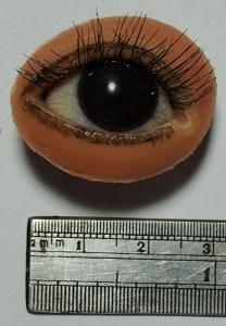 軟矽膠皮膚搭配硬式框架與義眼訂作 3